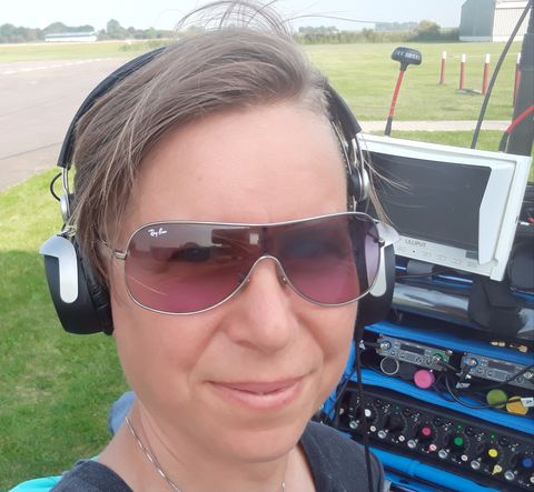 Claudia Mattai del Moro, production sound mixer, Hamburg