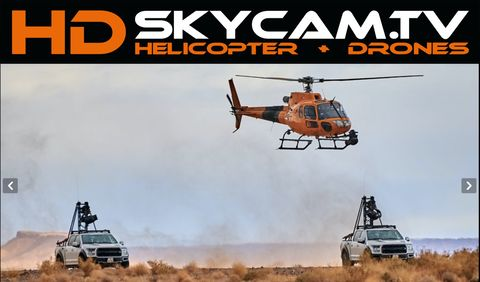 HD Skycam GmbH: 3D Stereocameras, Aerial Shooting, Cablecam, Wirecam, Camera Boats, Camera Cars/Shotmakers and Trailers, Camera Motorcycle, Cineflex, Helicopter Service, Helicopters and Airplanes, Specialized Camera Systems