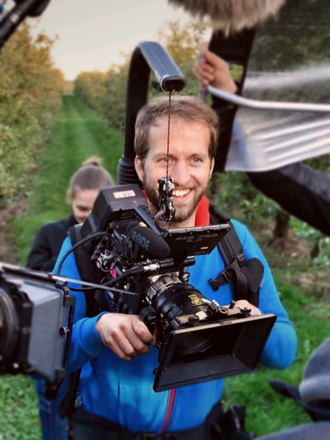 Hanns Maier, director of photography, 1st assistant camera, Stuttgart