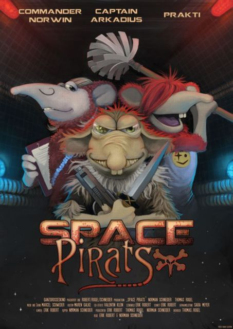 Space Pirats Poster | © Erik Robert