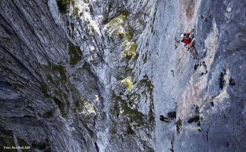 Climbing Elements - Kilian Fischhuber | © Red Bull ASP