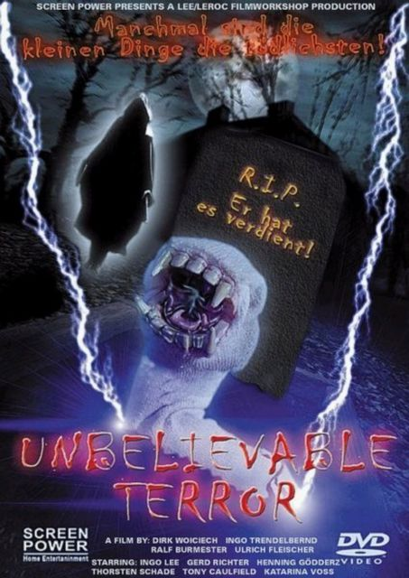 The Unbelievable Terror - DVD Cover | © Lee/Leroc Filmworkshop