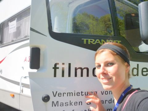 Anna Klöble, assistant location manager, set manager / 3rd AD, production assistant, Berlin