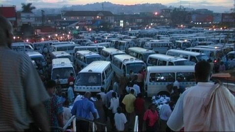Der Taxi Park in Kampala | © Andreas Frowein