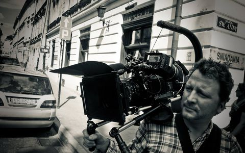 Stephan Boerger, director of photography, studio camera operator, eng camera, Leipzig