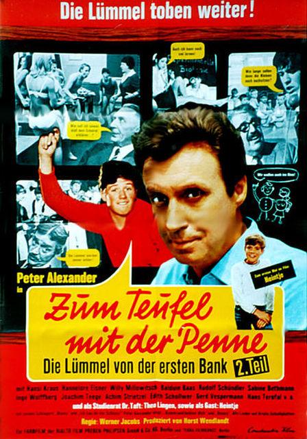 Zum Teufel mit der Penne, Kinospielfilm, 1968   Crew United