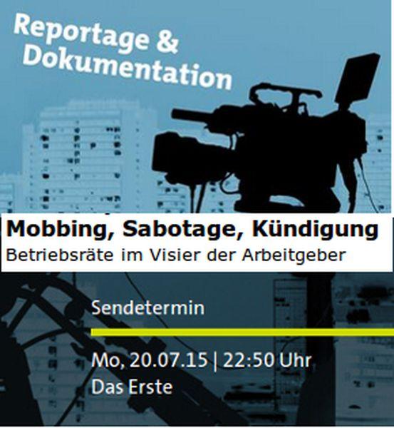 Mobbing Sabotage Kündigung Betriebsräte Im Visier Der Arbeitgeber