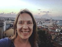 Maren Eich, art department coordinator, assistant production designer, standby props, Istanbul