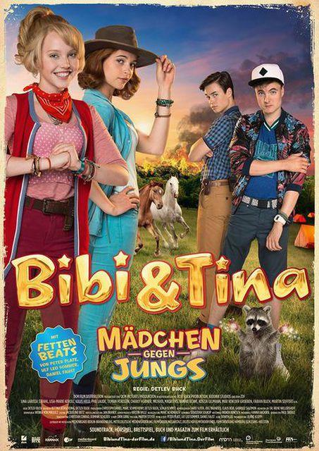 Bibi Tina 3 Mädchen Gegen Jungs Kinospielfilm 2015 Crew United