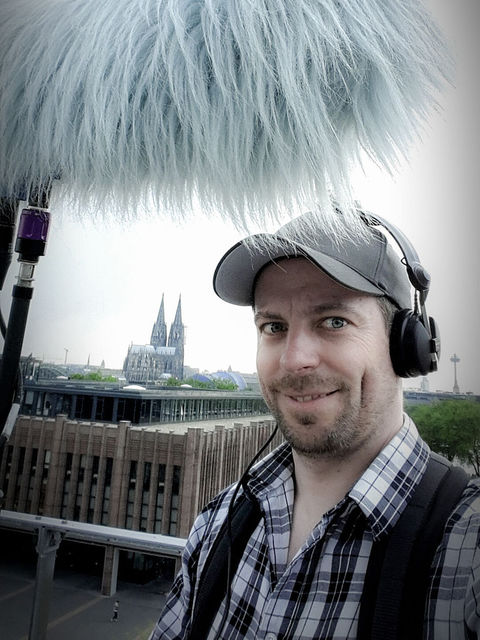 Sascha Witt, boom operator, production sound mixer, Cologne