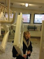Claudia Steinert, production designer, set decorator, assistant production designer, Berlin