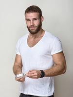 Andreas Adam, actor, presenter, Berlin