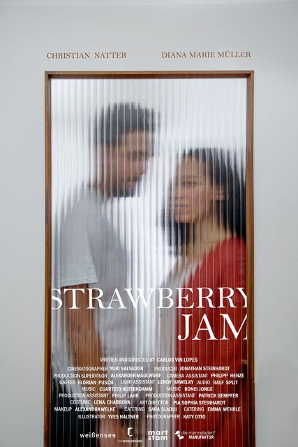 Official Poster Strawberry Jam | © Katy Otto / 2016