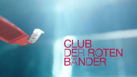 """Club der roten Bänder"" Logo 