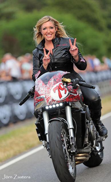 Mai- Lin Senf, Präzisionsfahrerin, Stuntwoman, Hamburg