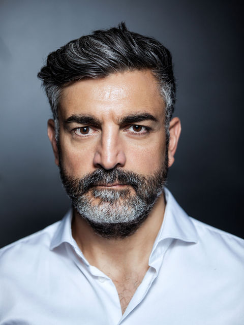 Neil Malik Abdullah, actor, Hamburg