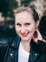 Karoline Fritz, actor, speaker, Berlin