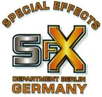 SFX Department Berlin: (Stunt-)Dummies, Mock Ups, Model Construction, Pyrotechnics, snow and winter special effects, SFX Special Effects (general), Weapons (SFX), Wind and Fog Machines
