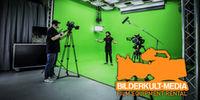 Bilderkult-Media: Photo Studios,  Interiors for Film- and Fotoshooting, LED Videowalls, Lighting Rental, Studios Renting, Editing Suites Rental, Studios for Fotoshootings, Sound Rental