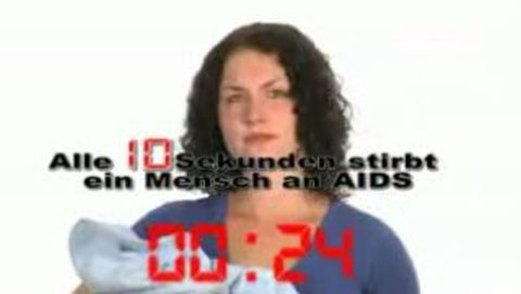 Gib aids keine chance schriftart
