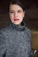 Anett Mende, presenter, Berlin