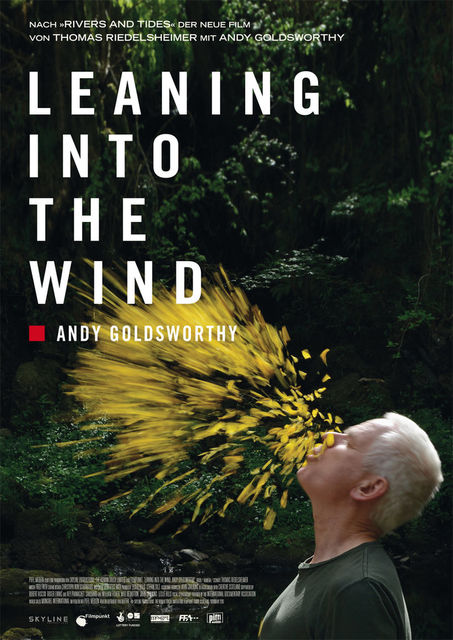 Leaning Into the Wind - Andy Goldsworth | © Pfiffl Medien
