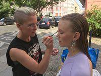 Astrid Stebich, makeup artist / hair stylist, fx makeup artist, Berlin