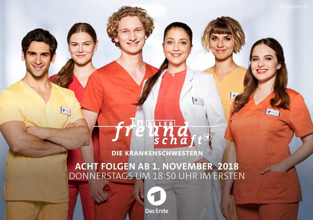 in aller freundschaft die krankenschwestern schauspieler