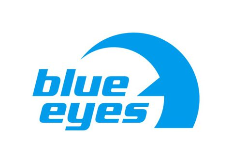 blue eyes Logo